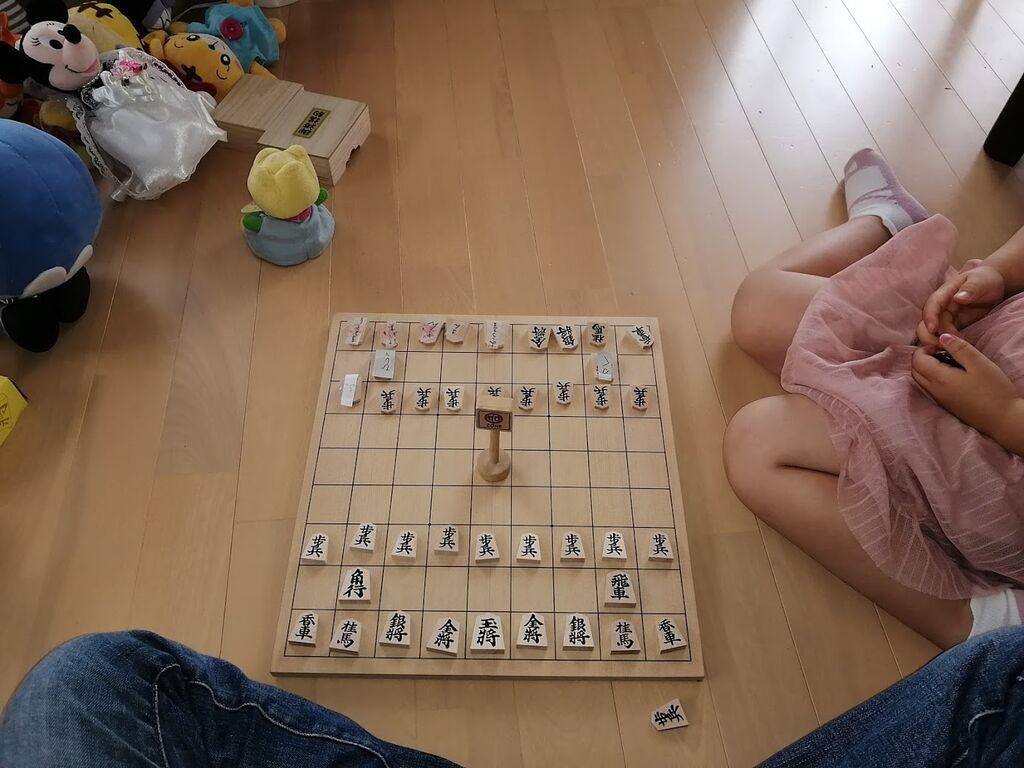 本将棋は子どもには難しい
