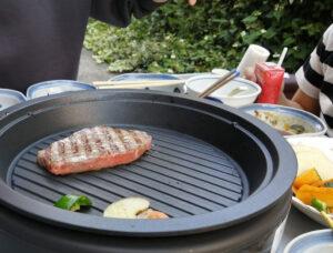 普段は絶対食べないA5ランクのお肉は…柔らかくて美味しいですね!