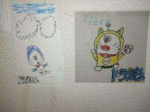子どもが描いたドラえもん