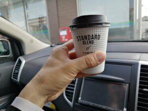ファミマカフェのコーヒー
