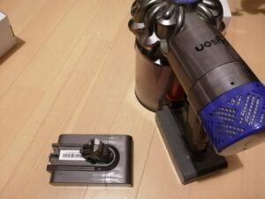 ダイソンV6互換バッテリー